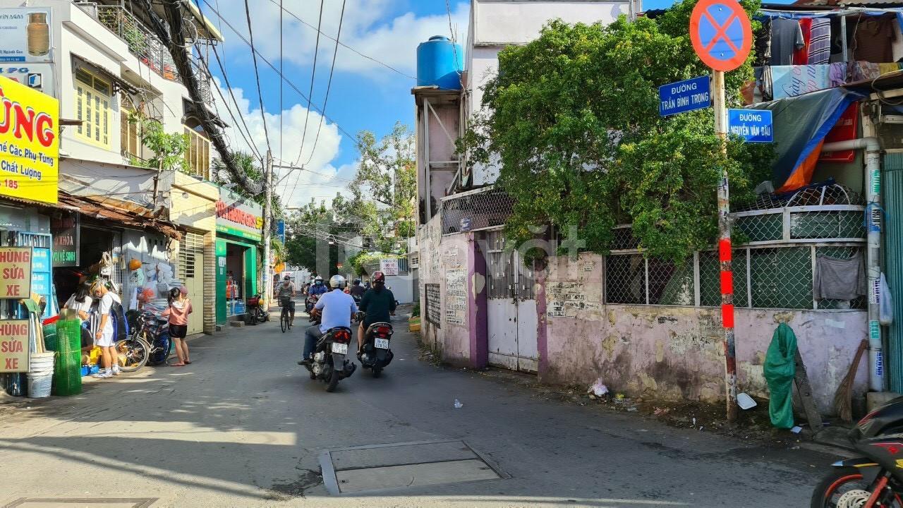 Bán nhà mặt tiền đường Trần Bình Trọng F5 Quận Bình Thạnh TP.HCM