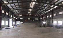 Cho thuê kho xưởng 1600m2, 4500m2 TT Phùng, Đan Phượng