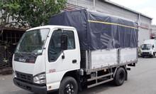 Xe tải Isuzu QKR230 thùng bạt, tải 1T, 1T4, 2T, 2T4, trả góp 80%
