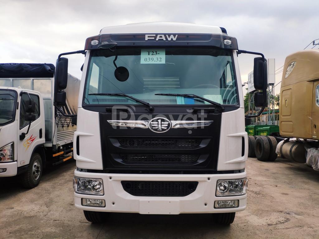 Xe tải thùng bạt dài 8 mét giá rẻ, faw 8 tấn thùng dài 8 mét
