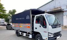 Xe tải Isuzu QKR270 thùng bạt, trả trước 120tr nhận xe