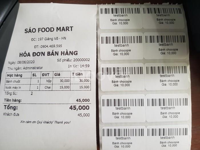 Nơi bán máy tính tiền Cho Cửa Hàng/ Shop tại Bình Thuận (ảnh 5)