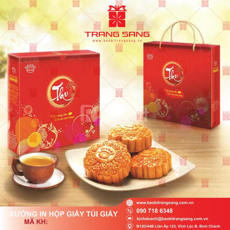 DỊch vụ in ấn làm hộp bánh trung thu đẹp giá rẻ tại TPHCM Trang Sang