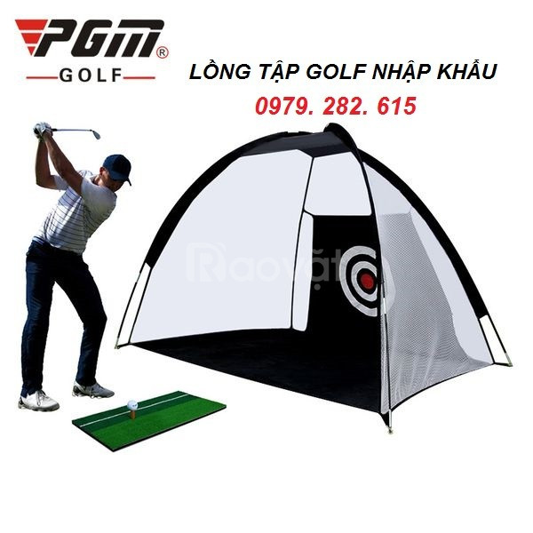 Lồng tập golf  ( lều tập golf ) di động