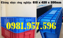 Thùng nhựa B1, hộp nhựa B1, hộp nhựa công nghiệp