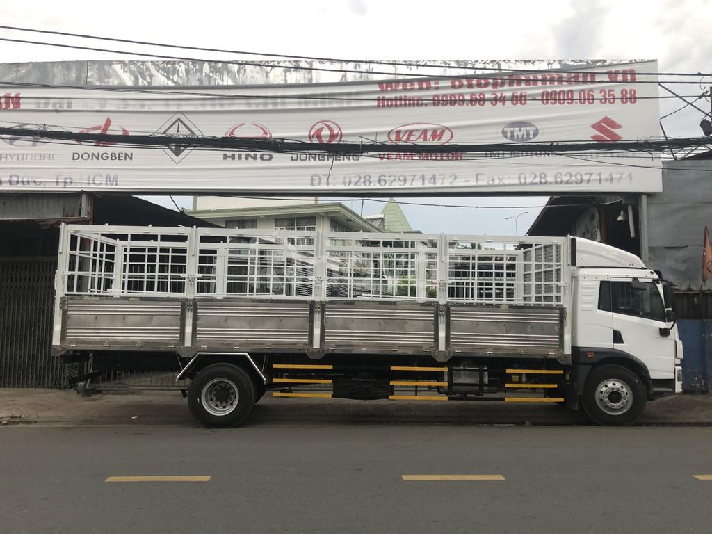 Xe tải thùng bạt dài 8m | faw 8 tấn thùng dài 8m 2020
