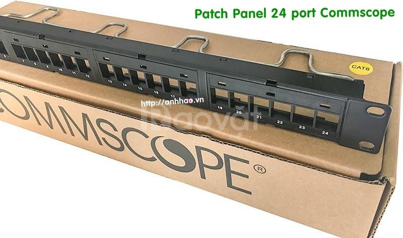 Cung cấp patch panel 24 port cat6 Commscope chính hãng giá tốt