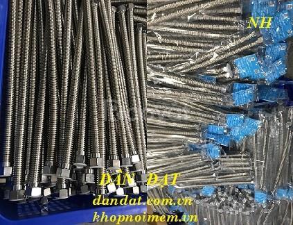 Sỉ sp dây dẫn nước mềm inox, dây cấp nước inox các loại, ống dẫn nước