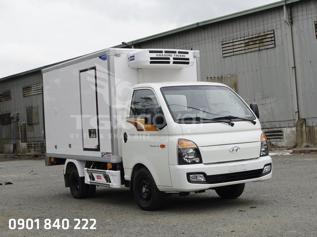 Xe Hyundai H150 thùng đông lạnh, xe có sẵn, trả góp 80%