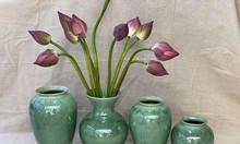 Các loại bình cắm hoa bằng gốm đệp