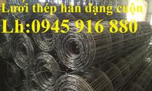 Lưới thép hàn D4a100, D4a150, D4a200, D4a250, D4a50 sẵn hàng