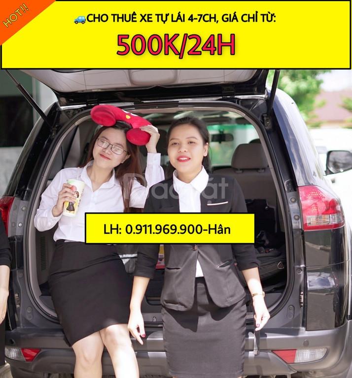 Cho thuê xe tự lái 4 - 7 chỗ