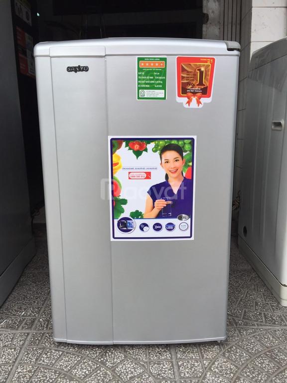 Tủ lạnh Sanyo nhẹ điện, dung tích 93 lít (ảnh 1)