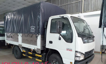 isuzu 2.420kg thùng Bạt 3.6m, KM máy lạnh, 50% thuế trước bạ,...