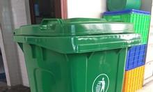 Thùng rác 120 lít nhựa hdpe - composite
