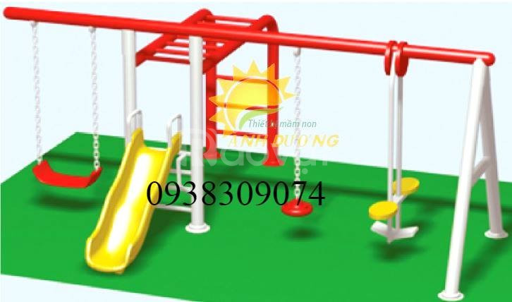 Xích đu giá rẻ cho trường mầm non, công viên, khu vui chơi (ảnh 7)
