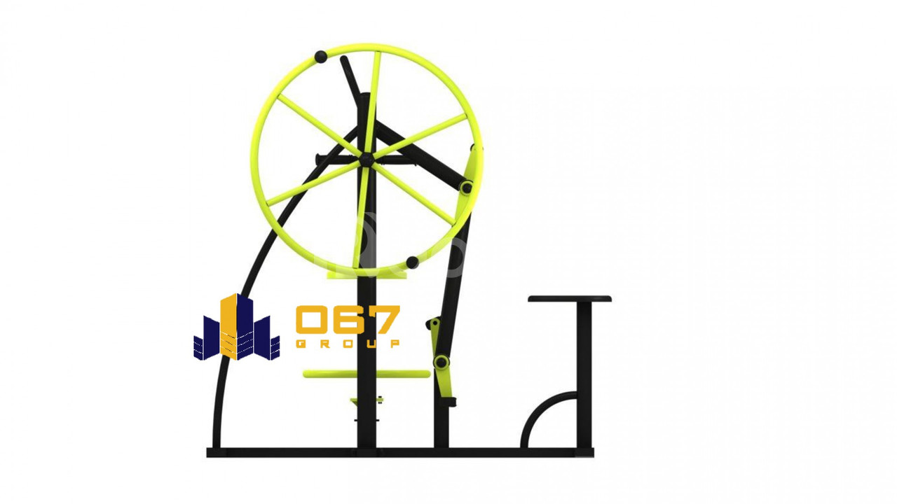 Gym Back Trainer, Arm Wheel, Hip Twister & Bicycle Thiết bị thể dục (ảnh 1)