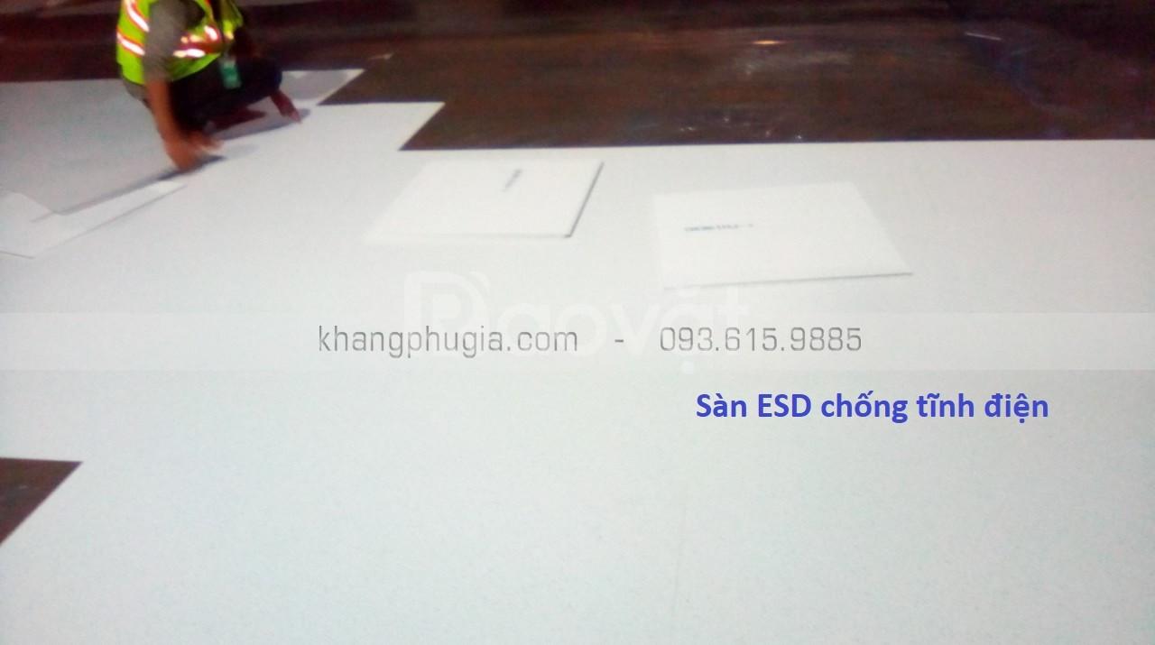 Sàn ESD chống tĩnh điện  (ảnh 4)