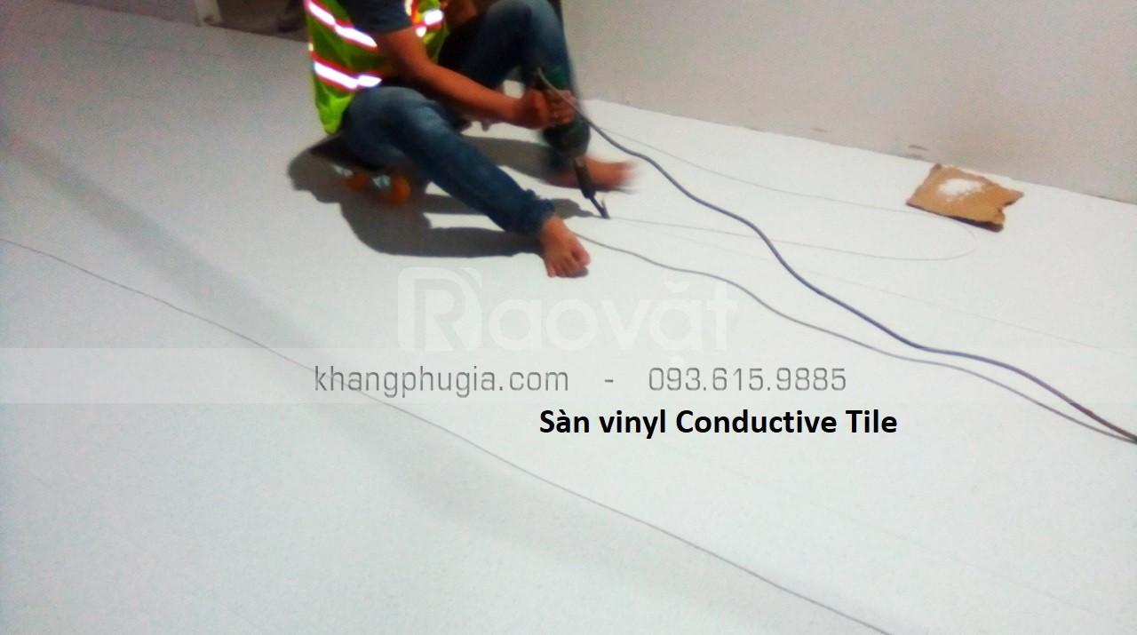 Sàn ESD chống tĩnh điện  (ảnh 1)