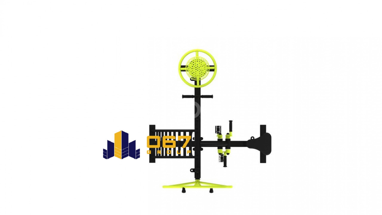 Gym Back Trainer, Arm Wheel, Hip Twister & Bicycle Thiết bị thể dục (ảnh 2)