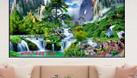 Tranh gạch phong cảnh - gạch ốp tường 3d HP51 (ảnh 5)