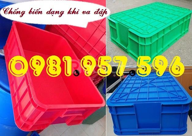 Hộp nhựa 2T có nắp đậy, thùng nhựa nuôi cá
