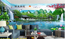 Tranh gạch phong cảnh - gạch ốp tường 3d HP51