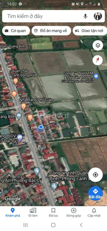 Bán lô đất ở Bắc Ly ngay trung tâm thanh phố Đồng Hới