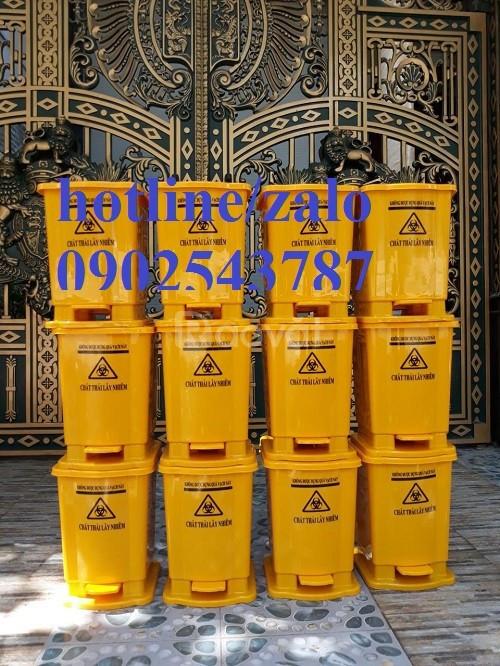 Thùng rác y tế 15 lít - 20 lít công cộng các loại