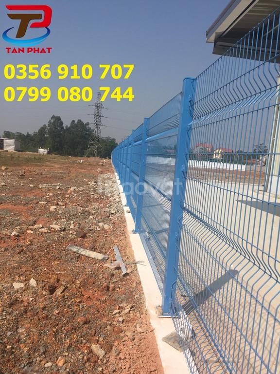 Hàng rào lưới thép, hàng rào mạ kẽm, hàng rào kho dạng chắn sóng