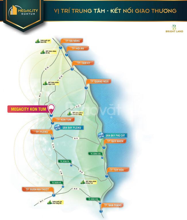 Nhận đặt chỗ ưu tiên Phân khu mới Park View dự án Mega City Kon Tum (ảnh 6)