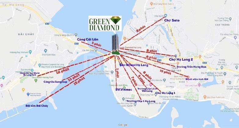 Chung cư Green Diamond Hạ Long - Giá rẻ nhất thị trường
