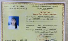 Đào tạo chứng chỉ kế toán trưởng tại Hà Nội