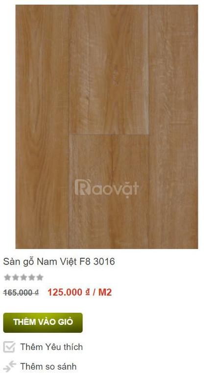 Sàn gỗ Nam Việt F8 3016 khuyến mãi (ảnh 1)