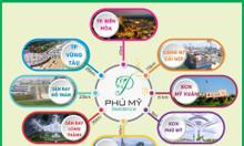 Bán 121m2 đất mặt tiền lớn phường Hắc Dịch, Phú Mỹ, 700 triệu sổ sẵn