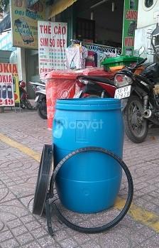 Thùng phi nhựa 50 lít đựng thực phẩm an toàn