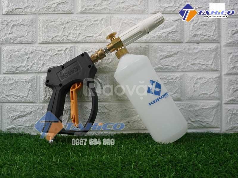 Bán bộ súng bình tạo bọt tuyết cho máy cao áp tại Tây Ninh