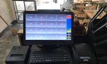 Bộ máy tính tiền cho quán ăn vặt tại Vũng Tàu