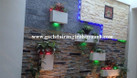 Đá răng lược đen ốp lát trang trí quán cafe (ảnh 6)