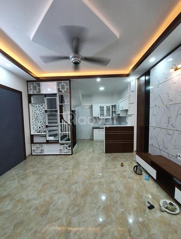 Nhà mới ở ngay Tôn Thất Tùng 33 m2 (ảnh 1)