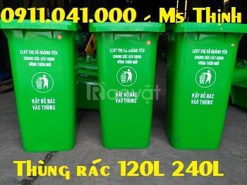 Thùng rác công cộng giúp môi trường sạch đẹp  (ảnh 1)