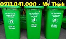 Thùng rác công cộng giúp môi trường sạch đẹp