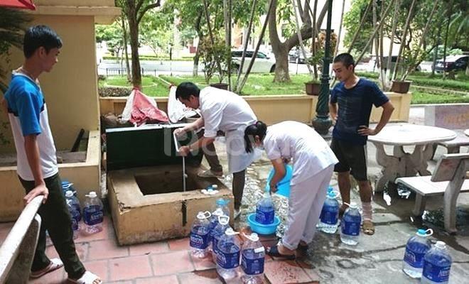 Thau rửa bể nước ngầm giá rẻ tại quận Hai Bà Trưng, Hà Nội