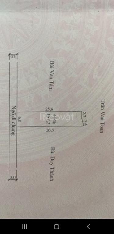 Cần bán lô đất 157m2 Đa Phúc, Dương Kinh giá chỉ 5tr/m2