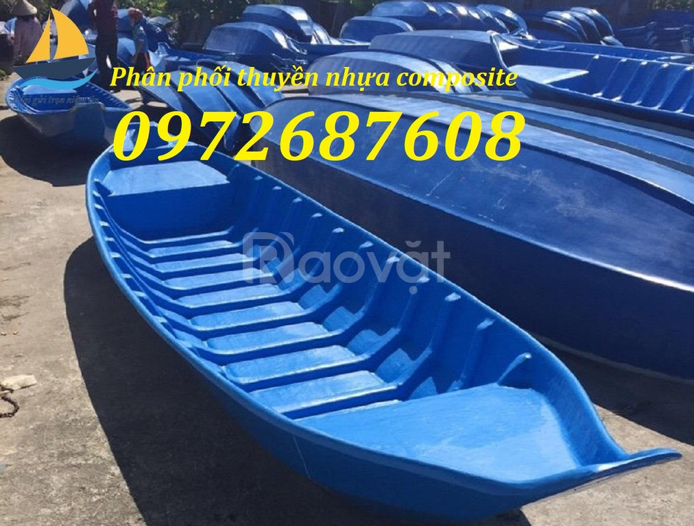 Xuồng ghe composite, thuyền câu cá, du lịch composite giá rẻ (ảnh 1)