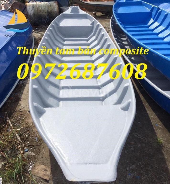 Xuồng ghe composite, thuyền câu cá, du lịch composite giá rẻ (ảnh 6)