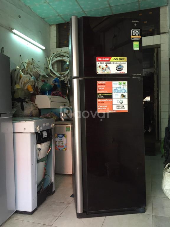 Tủ lạnh Sharp 430 lít, J-Tech inverter mới 95% (ảnh 7)