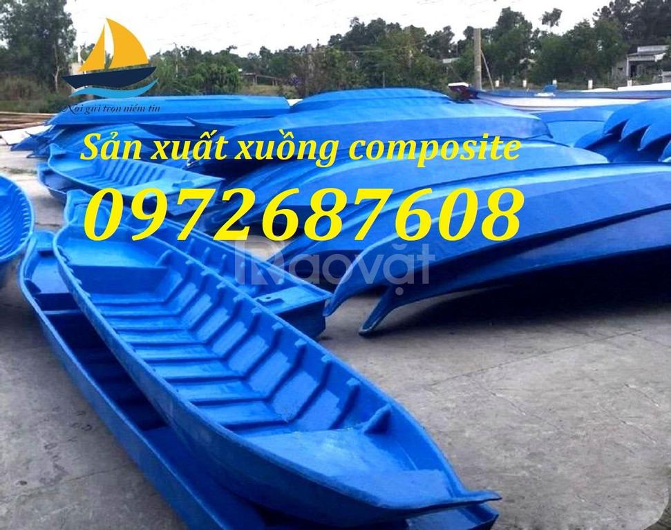 Xuồng ghe composite, thuyền câu cá, du lịch composite giá rẻ (ảnh 3)