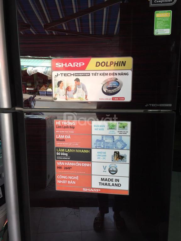 Tủ lạnh Sharp 430 lít, J-Tech inverter mới 95% (ảnh 6)