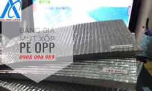 Mút xốp PE tráng bạc cách nhiệt, chống nóng mái nhà
